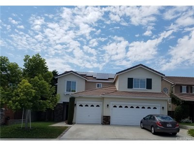 Stevenson Ranch Single Family Home For Sale: 26053 Ohara Lane