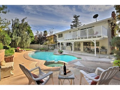 Calabasas CA Single Family Home For Sale: $996,000