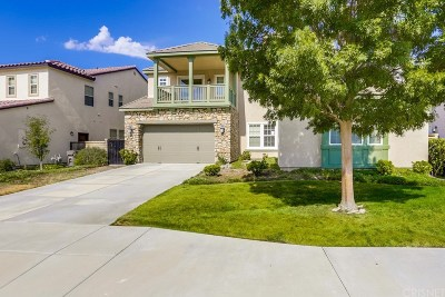Canyon Country Single Family Home For Sale: 27423 English Ivy Lane