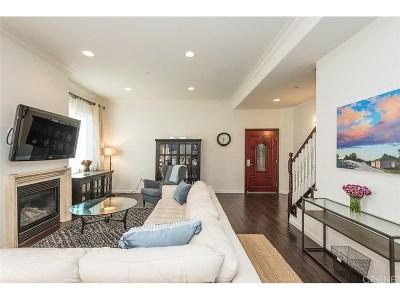 Sherman Oaks Condo/Townhouse For Sale: 13360 Burbank Boulevard #4
