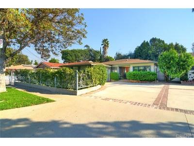 Encino Single Family Home For Sale: 4806 Aqueduct Avenue