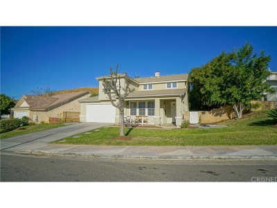 Saugus Single Family Home For Sale: 28890 Half Moon Place