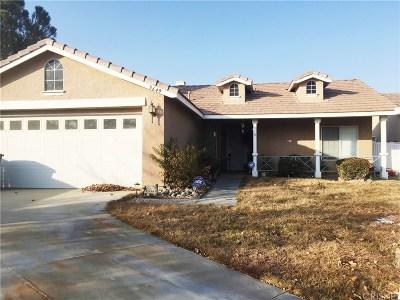 Rosamond Single Family Home For Sale: 3649 Banyon Court