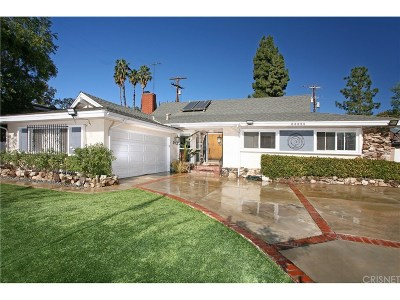 Woodland Hills Single Family Home For Sale: 23855 Califa Street