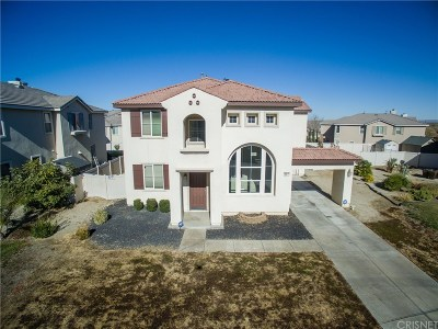 Palmdale Single Family Home For Sale: 6917 Archail Court