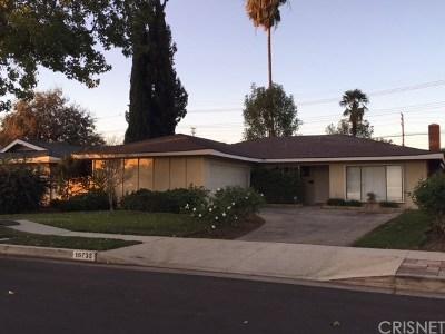 Northridge Single Family Home For Sale: 16733 Sunburst Street