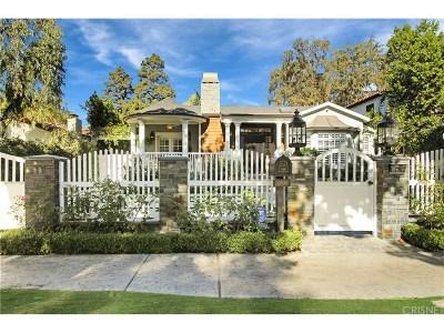 Toluca Lake Single Family Home For Sale: 10509 Valley Spring Lane