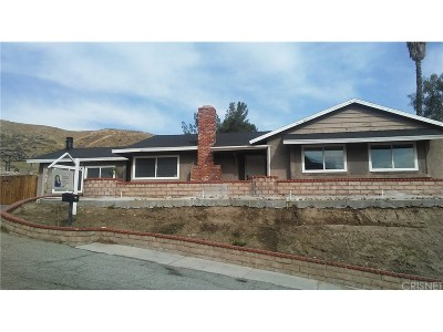 Canyon Country Single Family Home For Sale: 27906 Stonehill Way