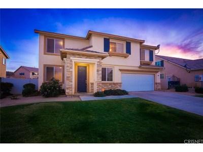 Palmdale Single Family Home For Sale: 2212 Cork Oak Street