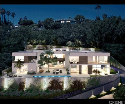 Bel Air Single Family Home For Sale: 11001 West Sunset Boulevard