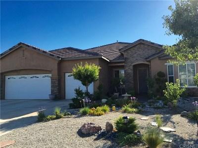 Lancaster Single Family Home For Sale: 41658 Firenze Street