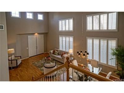 Valencia Single Family Home For Sale: 23660 Clearidge Drive