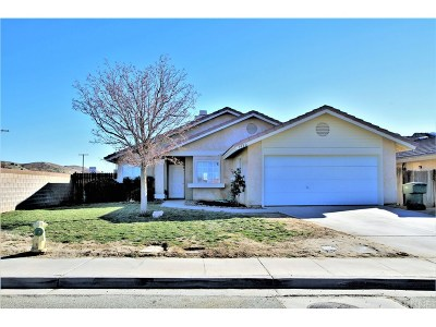Rosamond Single Family Home For Sale: 3480 35th Street West