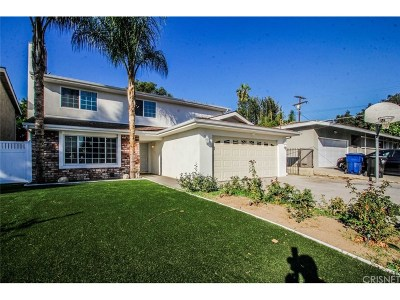 Valley Village Single Family Home For Sale: 5801 Agnes Avenue
