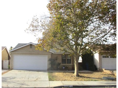 Palmdale Single Family Home For Sale: 2846 Nandina Drive