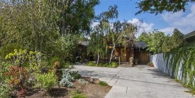 Sherman Oaks Single Family Home For Sale: 14903 Valley Vista Boulevard