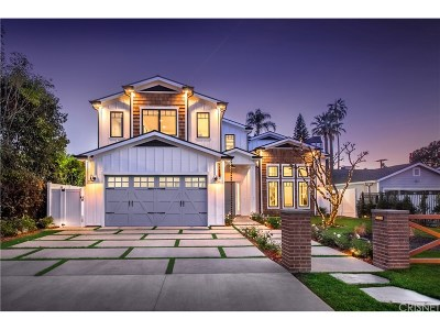 Sherman Oaks Single Family Home For Sale: 13610 Addison Street