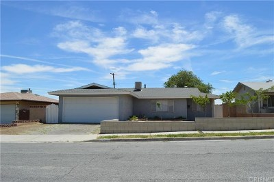 Palmdale Single Family Home For Sale: 37622 Sumac Avenue