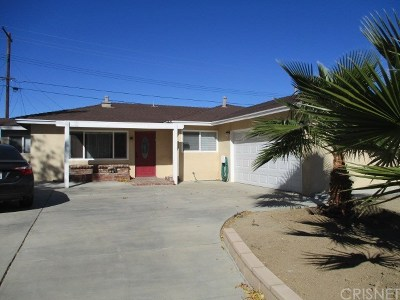 Palmdale Single Family Home For Sale: 38841 Deer Run Road