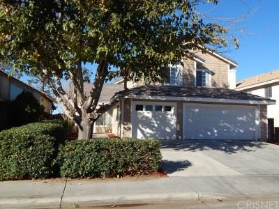 Lancaster Single Family Home For Sale: 45123 Loma Vista Drive