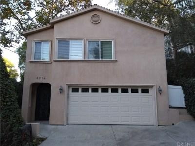 Sherman Oaks Rental For Rent: 4218 Noble Avenue