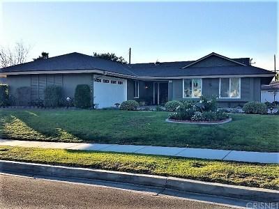 Camarillo Single Family Home For Sale: 1163 Baywood Court