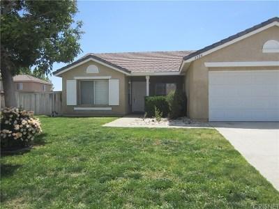 Rosamond Single Family Home For Sale: 3526 Tanglewood Avenue