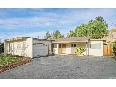 Saugus Single Family Home For Sale: 22441 La Rochelle Drive
