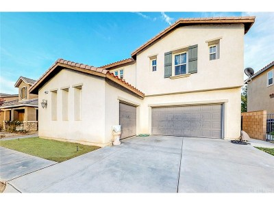 Lancaster Single Family Home For Sale: 44852 Shad Street