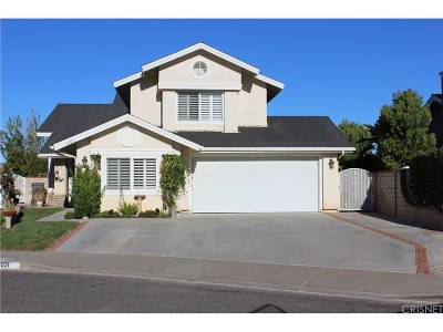 Saugus Single Family Home For Sale: 22621 Sarkis Court