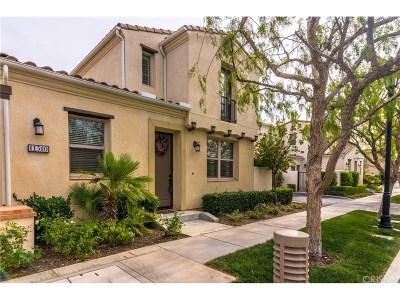 Northridge Condo/Townhouse For Sale: 11510 Cararra Lane