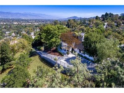 Sherman Oaks Single Family Home For Sale: 4101 Witzel Drive