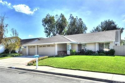 Thousand Oaks Single Family Home For Sale: 422 Raindance Street