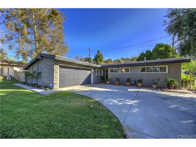 Saugus Single Family Home For Sale: 27144 Seco Canyon Road