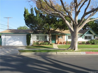 West Hills Single Family Home For Sale: 23468 Schoolcraft Street