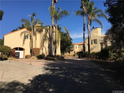 Los Angeles County Single Family Home For Sale: 3170 Santa Maria Road