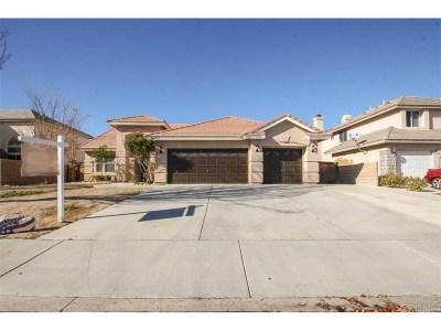 Lancaster Single Family Home For Sale: 44227 Westridge Drive