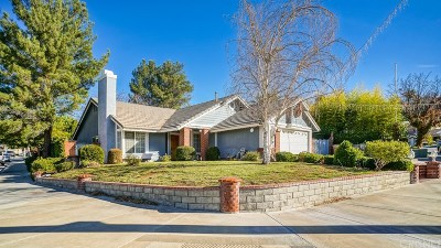 Saugus Single Family Home For Sale: 22523 Ash Court