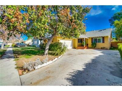 Northridge Single Family Home For Sale: 8536 Nestle Avenue