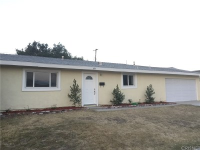 Simi Valley CA Single Family Home For Sale: $495,000