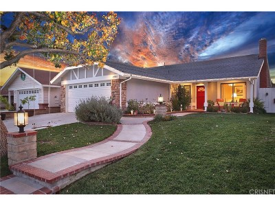 Saugus Single Family Home For Sale: 27761 Barrett Drive