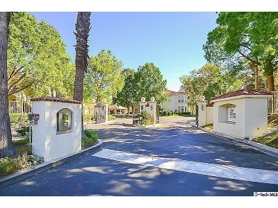 Stevenson Ranch Condo/Townhouse For Sale: 25947 Stafford Canyon Road #E