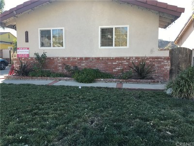 Saugus Single Family Home For Sale: 22278 Festividad Drive