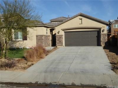 Rosamond Single Family Home For Sale: 3363 Jaguar Court