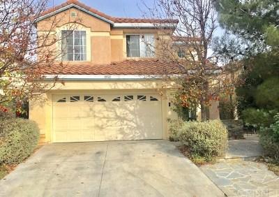 Newhall Single Family Home For Sale: 19343 Santa Maria Drive