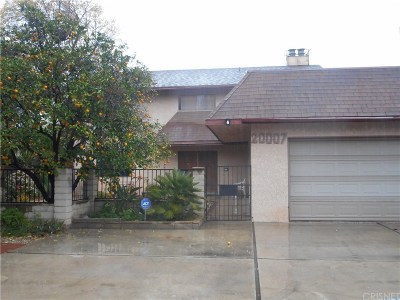Northridge Single Family Home For Sale: 20007 Parthenia Street