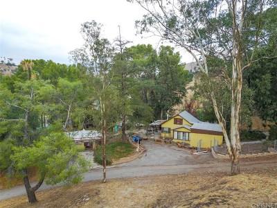 Shadow Hills Single Family Home For Sale: 9840 Sunland Boulevard
