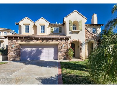 Stevenson Ranch Single Family Home For Sale: 26511 Thackery Lane