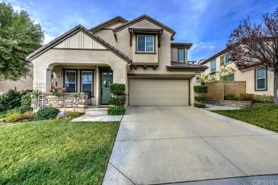 Valencia Single Family Home For Sale: 28845 Silversmith Drive
