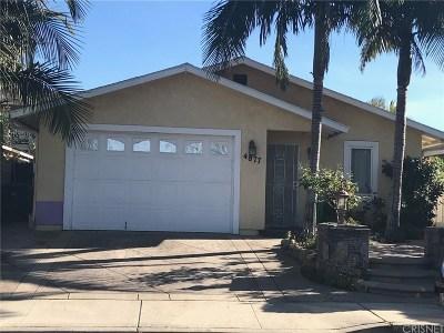 Moorpark Single Family Home For Sale: 4877 Juarez Avenue